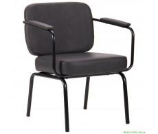 Кресло Oasis Soft черный / cowboy Dark Gray