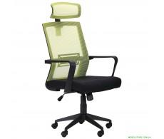 Кресло Neon лайм/черный
