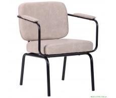 Кресло Oasis Soft черный / cowboy Light Gray