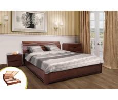 Комплект Кровать с подъемным механизмом МАРИЯ + Матрас МАККИЯТО 160х200