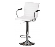 Барный стул Bar whitе platе