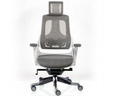 Кресло WAU SNOWY NETWORK WHITE