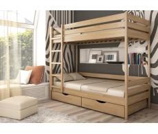 Кровать двухъярусная ДУЭТ (массив) Эстелла